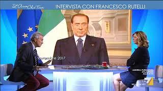 """L'ex segretario della margherita ed ex sindaco di roma commenta il ritorno berlusconi come leader del centrodestra: """"sono più divisi noi: centrosini..."""
