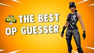 The Survival Specialist Skin (OP GUESSER) Fortnite Daily Reset NEW Items in Item Shop (Op GUESSER) Fortnite Daily Reset NEW Items in Item Shop (En)