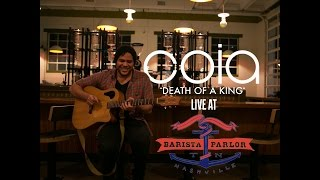 "Coia ""Death Of A King"" Live at Barista Parlor"