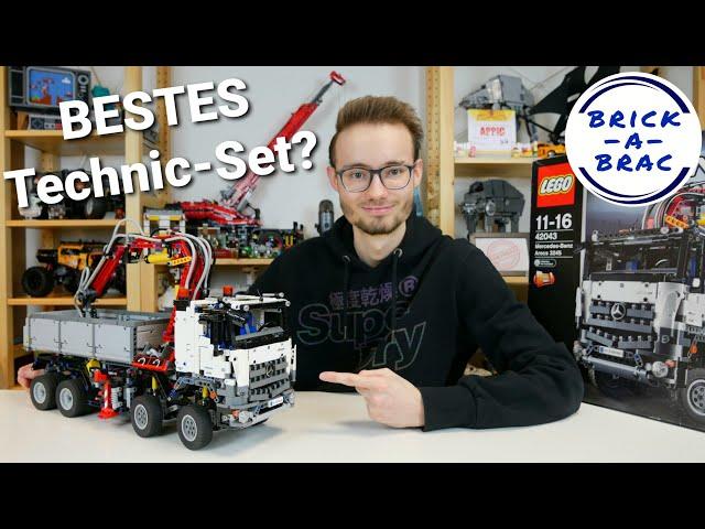 LEGO® Technic 42043 Mercedes-Benz Arocs 3245 - das beste Technic-Set aller Zeiten?
