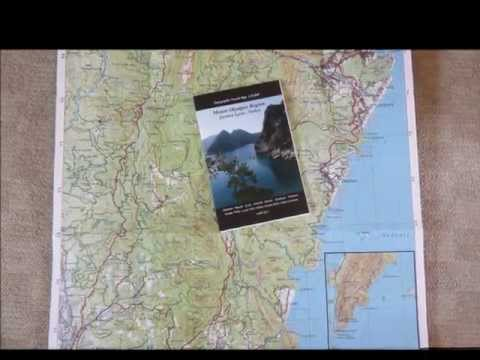 EWP mountain travel maps and map guides