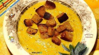 71 - Crema di porri..e l'affamati soccorri.. (primo piatto vegano ricetta facile veloce e nutriente)