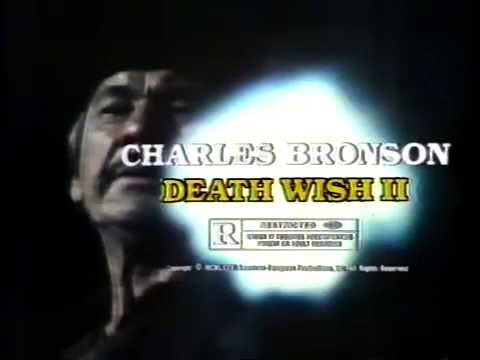 Death Wish II 1982 TV trailer