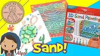 Faber-Castell 3D Sand Painting Art Activity Kit