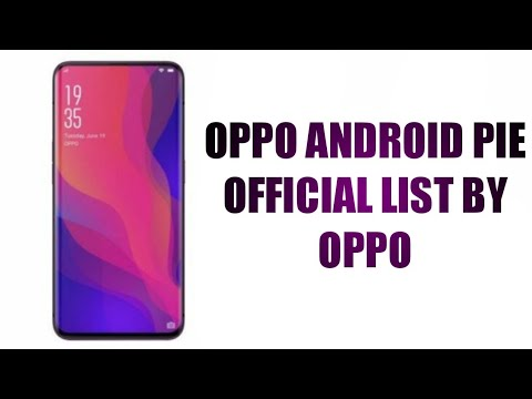 Oppo pie update list | these oppo phones getting android pie update | oppo  pie update