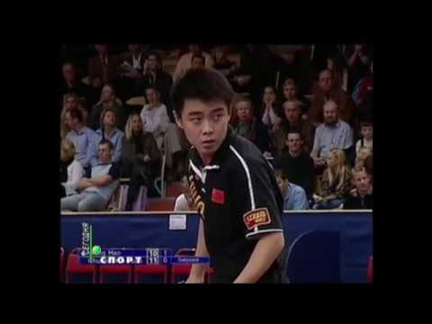 Table Tennis Semi Final Stockholm 2002 Van Hao - Chuan Chih Yuan
