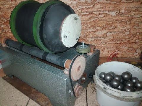 Шаровая мельница для золотодобычи/ Ball Mill For Gold Mining.