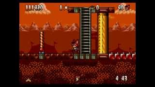 [Full GamePlay] Aero the Acro-Bat [Sega Megadrive/Genesis]