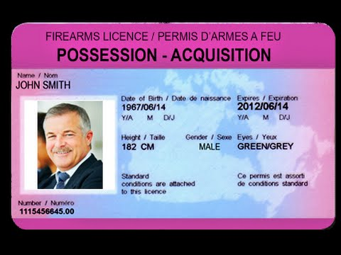 How to Get A Firearms License - CCFR Educational Resource