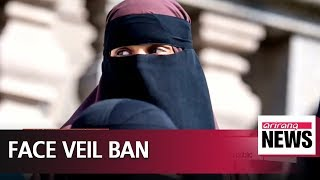 Denmark joins other EU nations in banning face veils from being worn in public