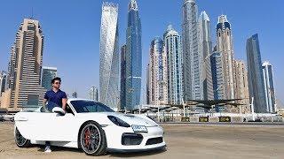 PROBANDO NUEVO AUTO EN DUBAI