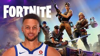 If Stephen Curry Played Fortnite Battle Royale! thumbnail