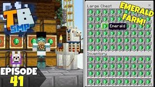 Truly Bedrock Episode 41! The BEST Emerald Farm! Minecraft Bedrock Survival Let's Play!