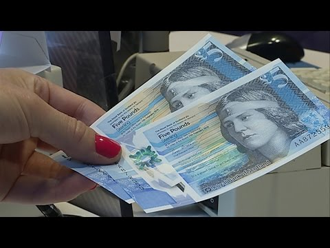 RBS Polymer Banknote - STV News Report