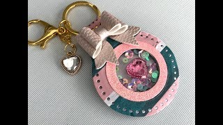 Paper Key Chain Tutorial *REQUESTED*