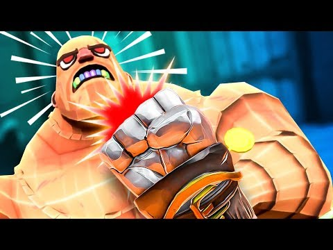 ONE PUNCH MAN CHALLENGE! - Be a Gladiator in VR GORN - HTC Vive Pro Gameplay