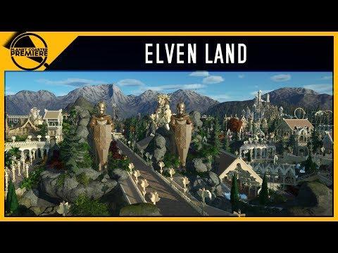 Elven Land | Planet Coaster Premiere | 4Kᵁᴴᴰ