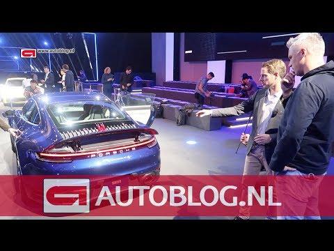 Nederlandse designbaas van Porsche over de nieuwe 911 (992)