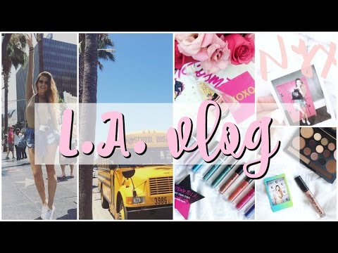 ♥ Los Angeles Vlog ♥│NYX Face Awards│Karin Dragos