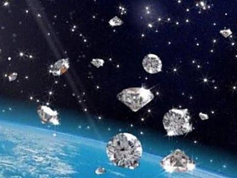 'Diamond rain' may fall on Saturn and Jupiter - YouTube
