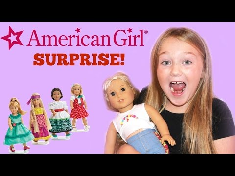 AMERICAN GIRL DOLL SURPRISE!