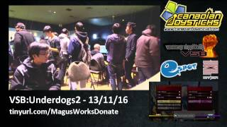 VSB: Underdogs S2E3 - UMvC3 Tournament
