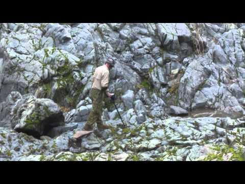 Prospecting the Sierra Nevadas, California. Garrett ATX/AT Gold.