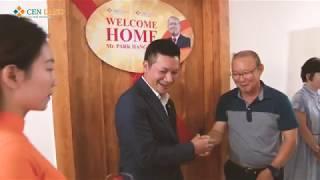 HLV Park Hang Seo nhận ngôi nhà của mình tại Việt Nam - tại The K-Park.