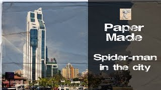 PaperMade - Spider-man in the city