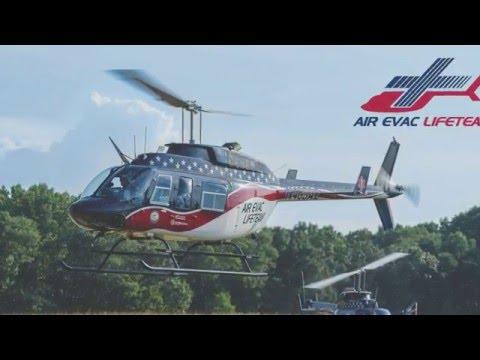 O'FallonTV: Air Evac Lifeteam's Flight Simulator | O'Fallon, Missouri