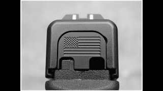 Awesome Milspin Glock 17 Slide Back Plate!
