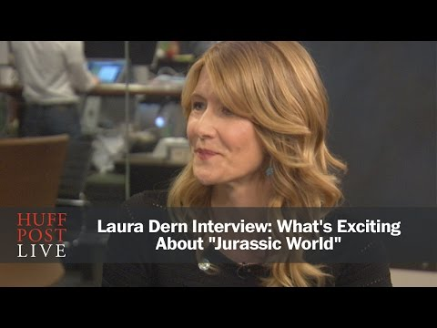 """Laura Dern Interview: What's Exciting About """"Jurassic World"""""""