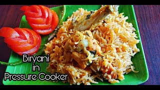 Chicken Biryani in Pressure Cooker/ Muslim Style