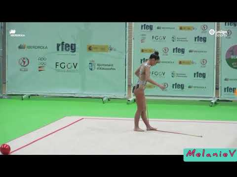 CARLA VILASANCHEZ - CUERDA ( CLUB RITMO ) ( FINAL LIGA IBERDROLA 2019 )