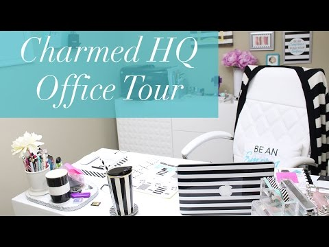 Charmed HQ Office Tour + Tips for Working Productively at Home!