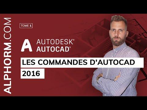 Apprendre AutoCAD 2016,