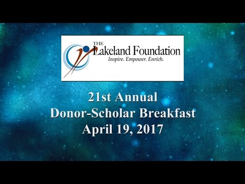 21st Annual Donor Scholar Breakfast 2017