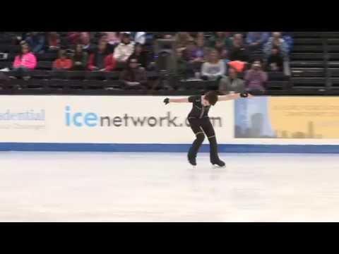 Eric Stinehart 2014 U.S. Figure Skating Championships Novice SP