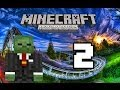 Minecraft Xbox 360 - Lets Build A Mini Game World - 2 - Spleef