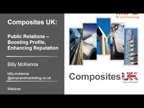Public Relations for the Composites Industry - Webinar Taster