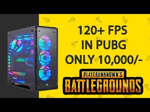BEST Gaming PC Build in just 10,000/- ONLY     60+FPS IN PUBG MOBILE