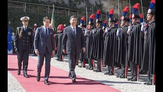 Moments of President Xi's visit to Italy| CCTV English