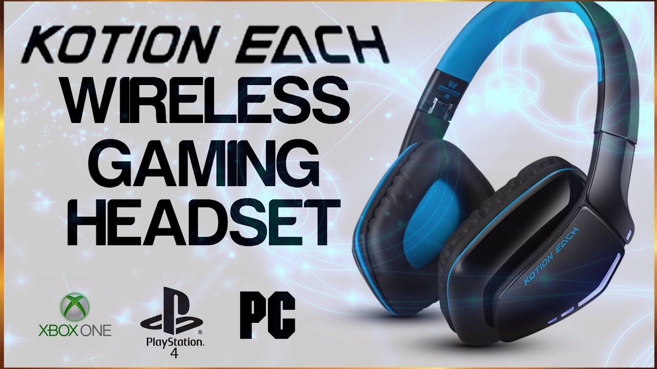 e6a6772815b Kotion Each B3506 Wireless Gaming Headset - YouTube
