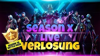 Fortnite Live English - VERLOSUNG BATTLE PASS - ABOZOCKEN [FACECAM]