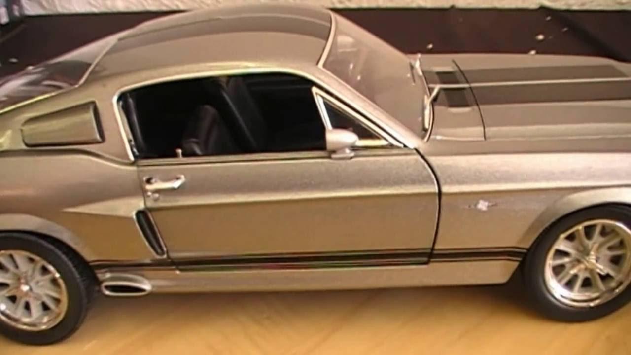 Coche eleanor ford mustang 1967 escala 118 película 60 segundos youtube