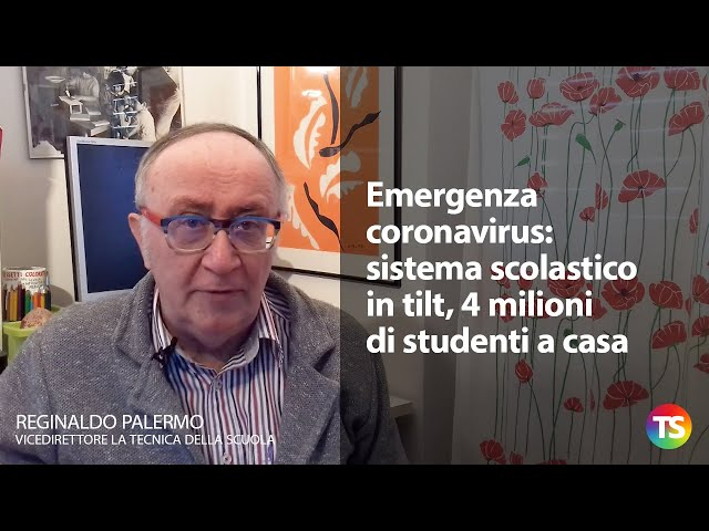 Emergenza coronavirus: sistema scolastico in tilt, 4 milioni di studenti a casa