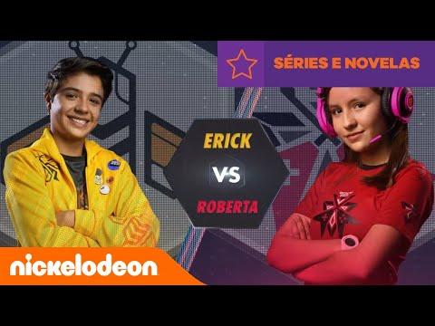 Noobees   Noobees VS Rockers: Erick VS Roberta   Brasil   Nickelodeon Em Português
