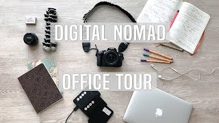 Digital Nomad: Traveling Office Tour