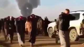 Сирия: Пленные боевики ИГИЛ 21 11 15