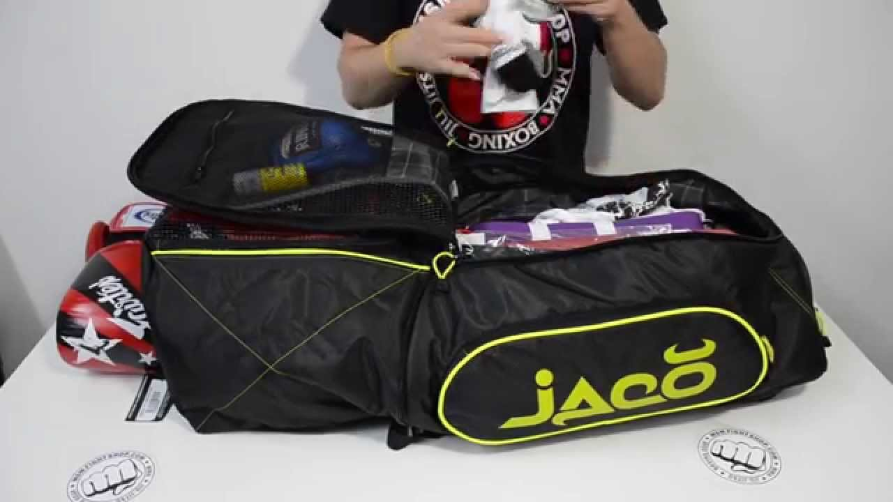 eb9a27678ad5 How much fits in a Jaco Training Gym Bag 2.0  by MSM Fight Shop - YouTube